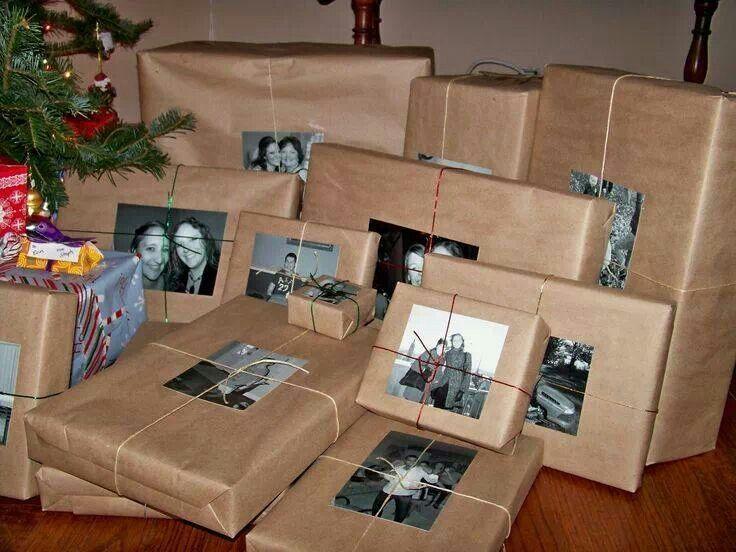 упаковка подарка+фото