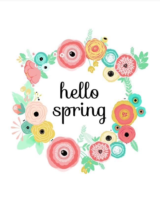 привет весна