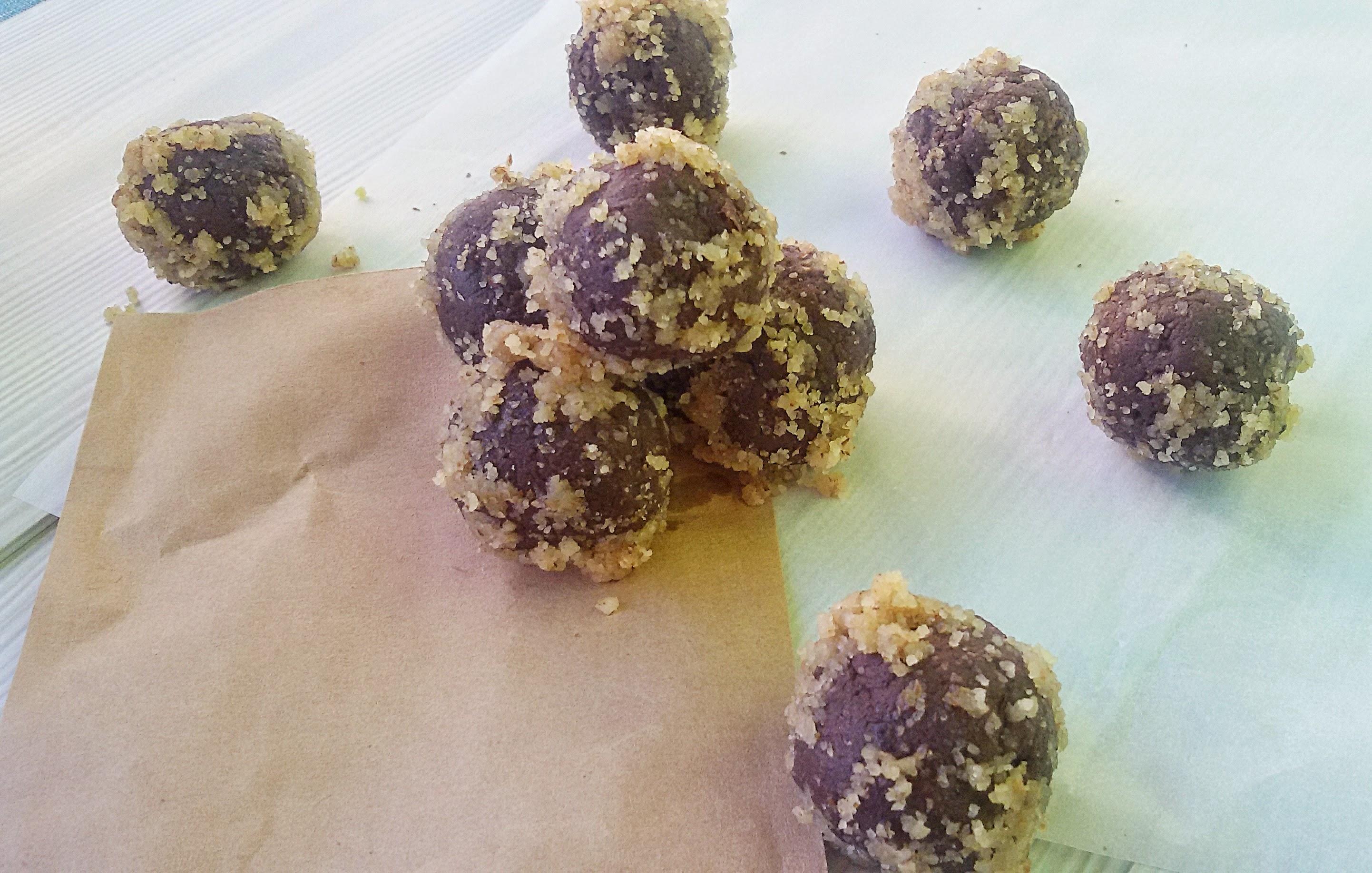 рецепт шоколадных конфет +в домашних условиях